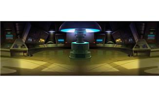 科幻电影实验室手绘动画背景参考资料
