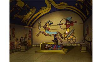 玛雅人文明文化室内壁画