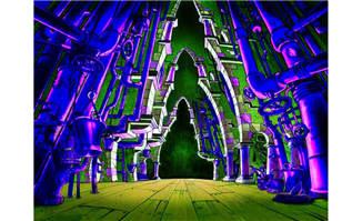 动漫场景科幻感建筑造型设计学习资料