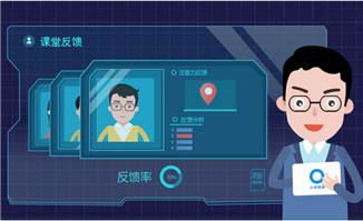 <b>人工智能线上教育测评系统MG动画视频模板</b>
