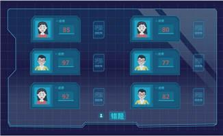 <b>科技感大数据处理系统选题动画短片模板</b>
