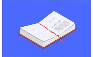 精致的扁平化图书素材