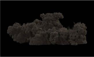 烟雾灰尘视频特效素材