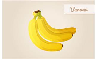 水果香蕉素材