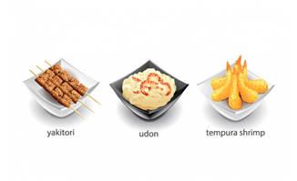 特色小吃美食素材