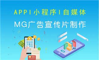 APP、小程序平台动漫MG宣传片制作服务