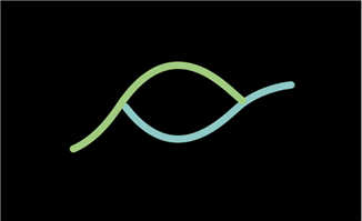 两根线条不规则运动动画