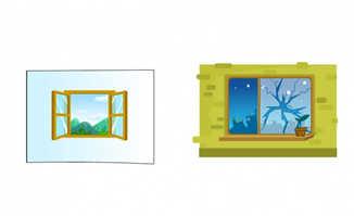 打开窗户的动画效果an动漫