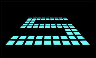 方块组合的倒计时动画P