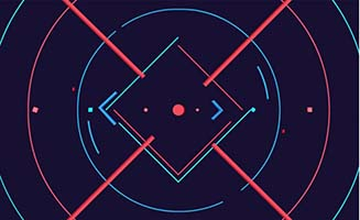 logo扁平创意特效片头模板