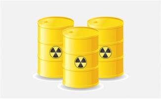 黄色石油桶素材
