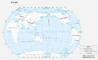 简洁世界地图图片矢量a