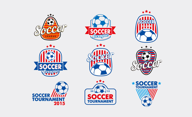 足球运动素材图标元素