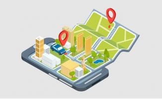 手机智能地图展示位置标