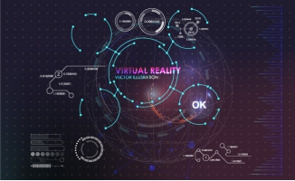 科技图表背景元素素材