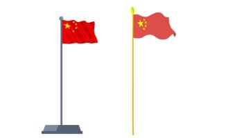 我爱你中国红旗飘扬an小动