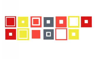 多组方块组合创意MG动画特