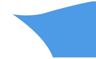 蓝色布料划过屏幕的创意