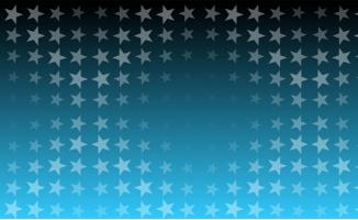 布满五角星的蓝色屏幕背