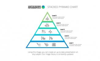 三角形图表素材