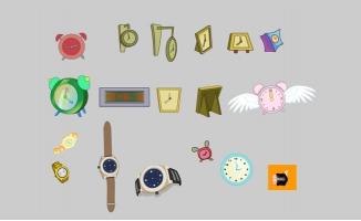 手表时钟计时器动漫道具