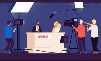 广播电视演播室新闻工作