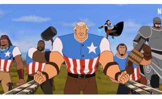 Netflix动画电影《美国:一部电影》发正式预告