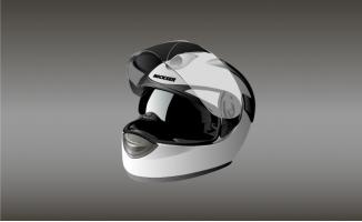 精致头盔素材矢量