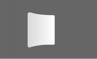 一片纸卷起来展开的动画