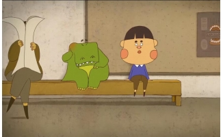 一部神动漫短片《其实你很可怕》搞笑但很写实