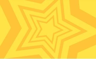 暖色调五角星图案卡通动