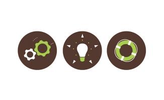 灯泡设置商务图标动画M