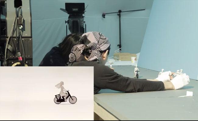 本田创意定格动画宣传片日本团队创作过程花絮